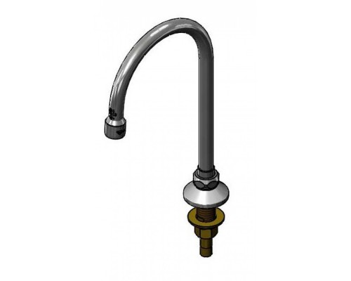 Deck Mounted Swivel/Rigid Gooseneck Spout (1.5 GPM)