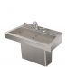 DSW130 Deluxe One-Station Hand Wash Trough Sink
