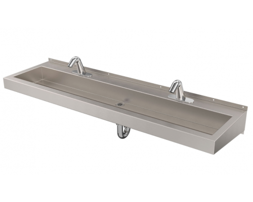 DSW260 Deluxe Two-Station Hand Wash Trough Sink