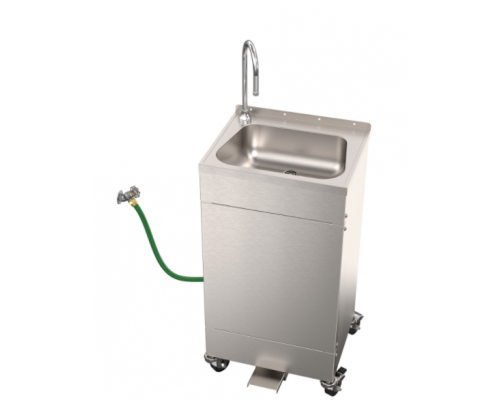 EPS1120 Hose Supply Foot Pedal Operated Portable Sink