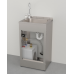 EPS1141 Warm Water Foot Button Operated Portable Sink