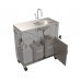PS1230 On Demand Pump, Warm Water Portable Sink