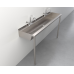 Two-Station Trough Sink