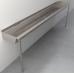 """Two-Station Trough Sink (102"""" wide maintains social distancing)"""