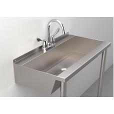 One-Station Trough Sink